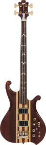 Musical Instruments:Bass Guitars, Circa 1980s Lado Natural Fretless Electric Bass Guitar, #CND-SF-2-343....
