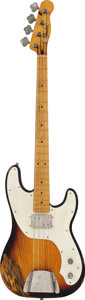 Musical Instruments:Bass Guitars, 1999 Fender Telecaster Bass Sunburst Electric Bass Guitar, Serial #N9250932....