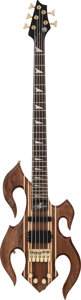 Musical Instruments:Bass Guitars, Circa 1990s Hembry Five-String Natural Electric Bass Guitar, Weight: 8.8 lbs....