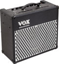 Musical Instruments:Amplifiers, PA, & Effects, Circa 1990s Vox AD30VT Black Guitar Amplifier, Serial #035755....