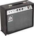 Musical Instruments:Amplifiers, PA, & Effects, Circa 1990s Ampeg G-18 Black Guitar Amplifier....