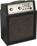 Musical Instruments:Amplifiers, PA, & Effects, Circa 1960s Kalamazoo Model 3 Black Guitar Amplifier, Serial #2706....