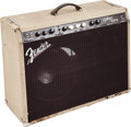 Musical Instruments:Amplifiers, PA, & Effects, Circa 1990s Fender Vibro King Blonde Guitar Amplifier, Serial#0028....