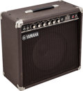 Musical Instruments:Amplifiers, PA, & Effects, Circa 1970s/80s Yamaha JX-35 Brown Guitar Amplifier, Serial #5684....