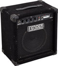 Musical Instruments:Amplifiers, PA, & Effects, Circa 1990s Fender Rumble 15 Black Guitar Amplifier, Serial #IA04G42878....