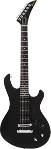 Musical Instruments:Electric Guitars, 1985 Gibson Q-300 Black Solid Body Electric Guitar, Serial #81025543....