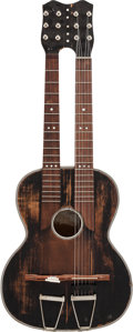 Musical Instruments:Acoustic Guitars, Circa 1920s Ricardo Duo-Neck Acoustic Guitar....