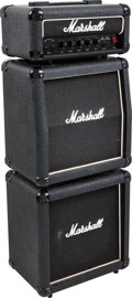 Musical Instruments:Amplifiers, PA, & Effects, Circa 1999 Marshall Micro Bass Black Bass Guitar Amplifier....