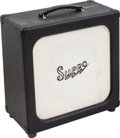 Musical Instruments:Amplifiers, PA, & Effects, Circa 1990s Supro Black Speaker Cabinet....
