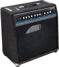Musical Instruments:Amplifiers, PA, & Effects, Circa 1990s Ampeg SS-70 Black Guitar Amplifier, Serial#70-02073....