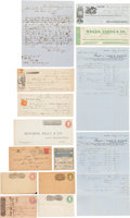 Transportation:Railroad, Wells, Fargo & Company et al: Assorted Ephemera....