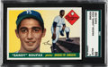 Baseball Cards:Singles (1950-1959), 1955 Topps Sandy Koufax #123 SGC 88 NM/MT 8....