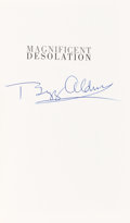 Autographs:Celebrities, Buzz Aldrin Signed Book: Magnificent Desolation. ...
