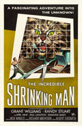 """Movie Posters:Science Fiction, The Incredible Shrinking Man (Universal International, 1957). OneSheet (27"""" X 41""""). Reynold Brown Artwork.. ..."""