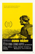 "Movie Posters:Drama, Easy Rider (Columbia, 1969). One Sheet (27"" X 41"") Style A. Drama....."