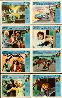 """The Birds (Universal, 1963). Lobby Card Set of 8 (11"""" X 14""""). ... (Total: 8 Items)"""
