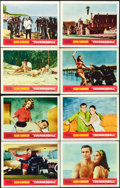 "Movie Posters:James Bond, Thunderball (United Artists, 1965). Lobby Card Set of 8 (11"" X 14""). James Bond.. ... (Total: 8 Items)"