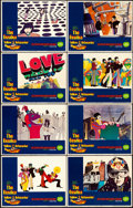 "Movie Posters:Animation, Yellow Submarine (United Artists, 1968). Lobby Card Set of 8 (11"" X14"").. ... (Total: 8 Items)"