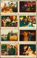 "Movie Posters:Hitchcock, The Wrong Man (Warner Brothers, 1957). Lobby Card Set of 8 (11"" X14"").. ... (Total: 8 Items)"