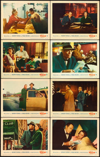 """The Wrong Man (Warner Brothers, 1957). Lobby Card Set of 8 (11"""" X 14""""). ... (Total: 8 Items)"""