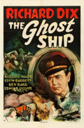 "Movie Posters:Horror, The Ghost Ship (RKO, 1943). One Sheet (27"" X 41"").. ..."