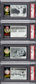 Baseball Cards:Sets, 1971 Topps Greatest Moments Near Set (51/55). ...