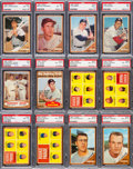 Baseball Cards:Lots, 1962 Topps Baseball High Grade Collection (157). ...