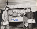 "Autographs:Celebrities, Buzz Aldrin Signed Large Korean War ""MIG Claims"" Photo Originallyfrom His Personal Collection. ..."