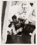 Autographs:Celebrities, Alan Shepard Signed Mercury Capsule Photo. ...