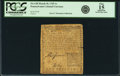 Colonial Notes:Pennsylvania, Pennsylvania March 10, 1769 1 Shilling Fr. PA-138. PCGS Fine 15Apparent.. ...