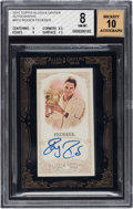 Autographs:Sports Cards, 2012 Topps Allen & Ginter Roger Federer Autograph #RFD BGSNM-MT 8 - 10 Autograph. ...