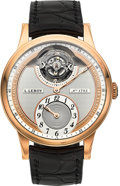 Timepieces:Wristwatch, L. Leroy Unused Osmior Tourbillon 18K Rose Gold Automatic RegulatorWristwatch No. 1793 Ref. LL106. ...