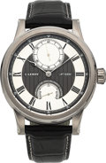 Timepieces:Wristwatch, L. Leroy Unworn Osmior Marine Deck Chronometer 18K White Gold Wristwatch No. 2351, Ref. LL200. ...