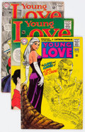 Silver Age (1956-1969):Romance, Young Love Group of 20 (DC, 1966-77) Condition: Average GD/VG....(Total: 20 Comic Books)