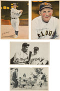 Baseball Cards:Lots, 1936-37 R312 Pastels, R313 Fine Pen & R314 Wide Pen PremiumsCollection (118) With Four Joe DiMaggio Cards. ...