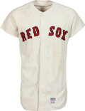 Baseball Collectibles:Uniforms, 1971 Billy Conigliaro Game Worn Boston Red Sox Jersey. ...
