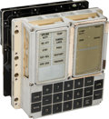 Explorers:Space Exploration, Apollo Guidance Computer: Original Display and Keyboard (DSKY)Unit. ...