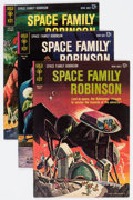 Silver Age (1956-1969):Science Fiction, Space Family Robinson #2-5 Group (Gold Key, 1963-64) Condition: Average FN/VF.... (Total: 4 Comic Books)