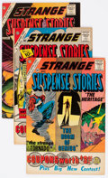 Silver Age (1956-1969):Science Fiction, Strange Suspense Stories Group of 13 (Charlton, 1961-65) Condition:Average FN/VF.... (Total: 13 Comic Books)