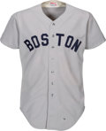 Baseball Collectibles:Uniforms, 1979 Dwight Evans Game Worn Boston Red Sox Jersey. ...