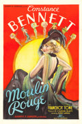 "Movie Posters:Comedy, Moulin Rouge (United Artists, 1934). One Sheet (27"" X 41"").. ..."