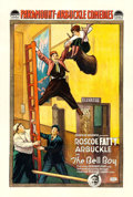 "Movie Posters:Comedy, The Bell Boy (Paramount, 1918). One Sheet (27"".5 X 41"").. ..."