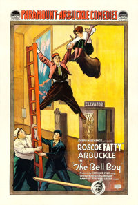 """The Bell Boy (Paramount, 1918). One Sheet (27"""".5 X 41"""")"""