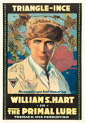 "Movie Posters:Drama, The Primal Lure (Triangle-Ince, 1916). One Sheet (28"" X 41"").. ..."