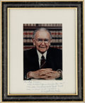 Autographs:Statesmen, Associate Justice William J. Brennan, Jr. Signed Photo....