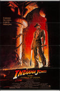 "Movie Posters:Adventure, Indiana Jones and the Temple of Doom (Paramount, 1984). One Sheet(27"" X 41""). Style A. Adventure.. ..."