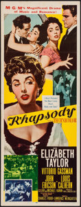 "Movie Posters:Musical, Rhapsody (MGM, 1954). Insert (14"" X 36""). Musical.. ..."