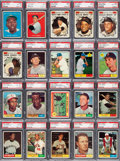 Baseball Cards:Sets, 1961 Topps Baseball High Grade Near Set (582/587). ...