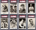 Baseball Cards:Sets, Signed 1935 Pebble Beach Clothiers Collection (9 Different) PSA/DNAAuthentic - With Original Letter and Envelope. ...
