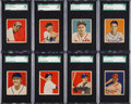 Baseball Cards:Lots, 1949 Bowman SGC Graded Collection (31). ...